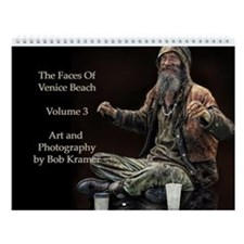 Faces Of Venice Beach Vol. 3 Wall Calendar