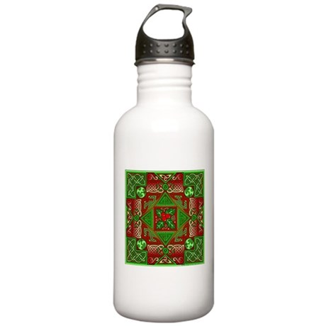 Celtic Labyrinth Holly Stainless Water Bottle 1.0L