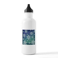 Celtic Snowflakes Water Bottle