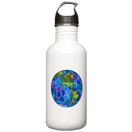 Earth Day Planet Stainless Water Bottle 1.0L