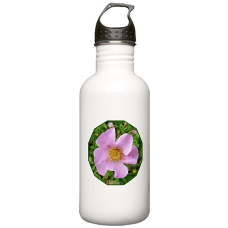 California Wild Rose Stainless Water Bottle 1.0L