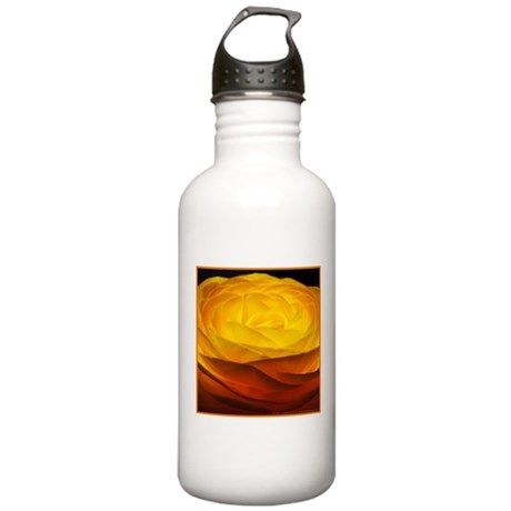 Yellow Ranunculus Stainless Water Bottle 1.0L
