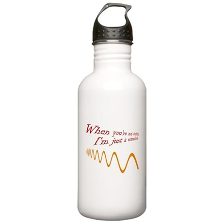 Just a Waveform Stainless Water Bottle 1.0L