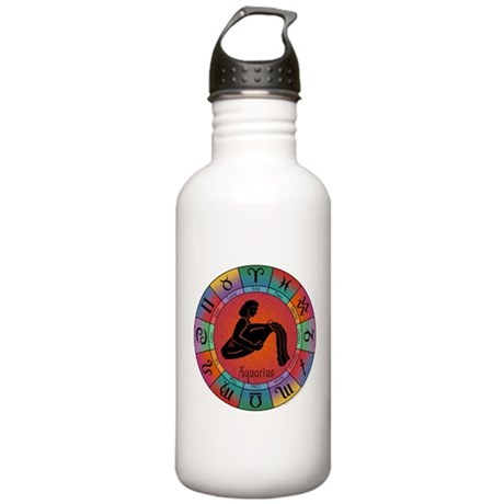 Aquarius Water Bearer Stainless Water Bottle 1.0L