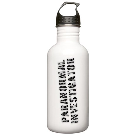 Paranormal Investigator Stainless Water Bottle 1.0