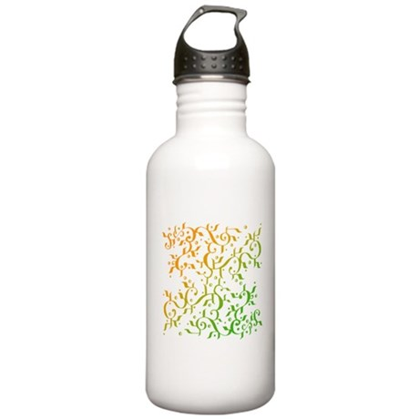 Abstract Arabic Stainless Water Bottle 1.0L