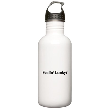 Feelin' Lucky? Stainless Water Bottle 1.0L