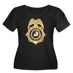 GSA Special Agent Women's Plus Size Scoop Neck Dar