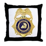 GSA Special Agent Throw Pillow