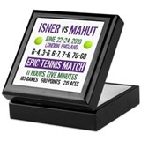 Isner Epic Match Keepsake Box