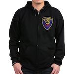 Baltimore Bomb Squad Zip Hoodie (dark)