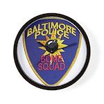 Baltimore Bomb Squad Wall Clock