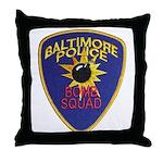 Baltimore Bomb Squad Throw Pillow