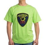Baltimore Bomb Squad Green T-Shirt