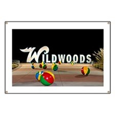 Wildwoods Sign in Wildwood NJ - Banner