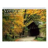 Vermont Landscape Photos Wall Calendar