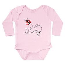 Ladybug Lucy Long Sleeve Infant Bodysuit