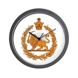 Persia Coat of Arms Wall Clock