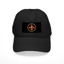Gold Leaf Fleur de lis Baseball Hat