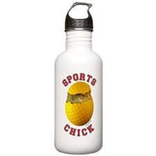 Golf Chick 2 Water Bottle