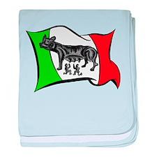 Cute Italian stallion baby blanket