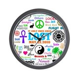 LOST Memories Wall Clock