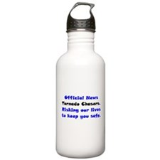 Official Tornado Chasers Water Bottle