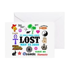 LOST Memories V2 Greeting Card