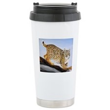 Bobcat Ceramic Travel Mug