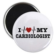 I Love My Cardiologist Magnet