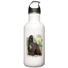 Afghan Hound Sports Water Bottle