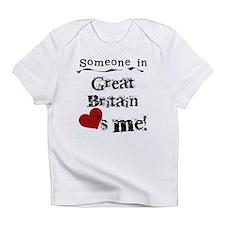 Great Britain Loves Me Infant T-Shirt