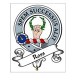Ross Clan Badge Small Poster