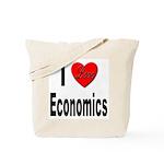 I Love Economics Tote Bag