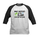 Happened on Island Kids Baseball Jersey