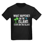 Happened on Island Kids Dark T-Shirt