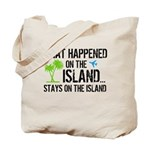 Happened on Island Tote Bag