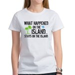 Happened on Island Women's T-Shirt