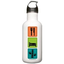 Eat Sleep Chiro Water Bottle