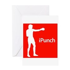 iPunch Greeting Card