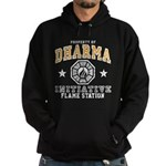 Dharma Flame Station Hoodie (dark)