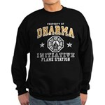 Dharma Flame Station Sweatshirt (dark)