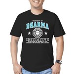 Dharma Property Men's Fitted T-Shirt (dark)