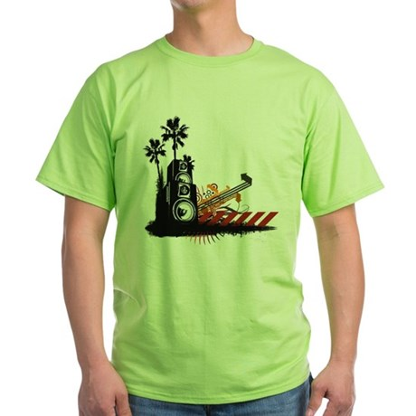 Speaker Tower Green T-Shirt