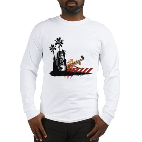 Speaker Tower Long Sleeve T-Shirt