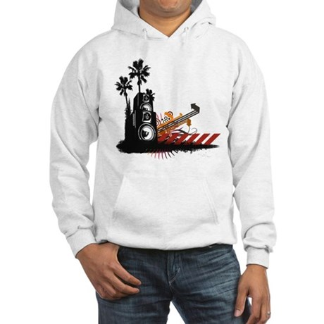 Speaker Tower Hooded Sweatshirt