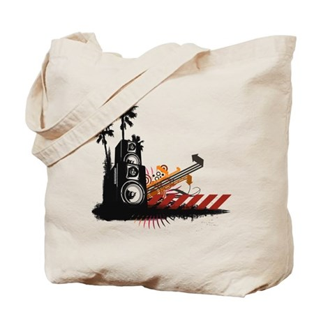 Speaker Tower Tote Bag