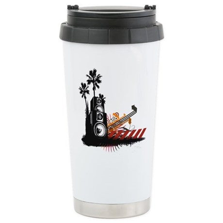 Speaker Tower Ceramic Travel Mug