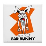 Bad Bunny Tile Coaster