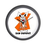 Bad Bunny Wall Clock
